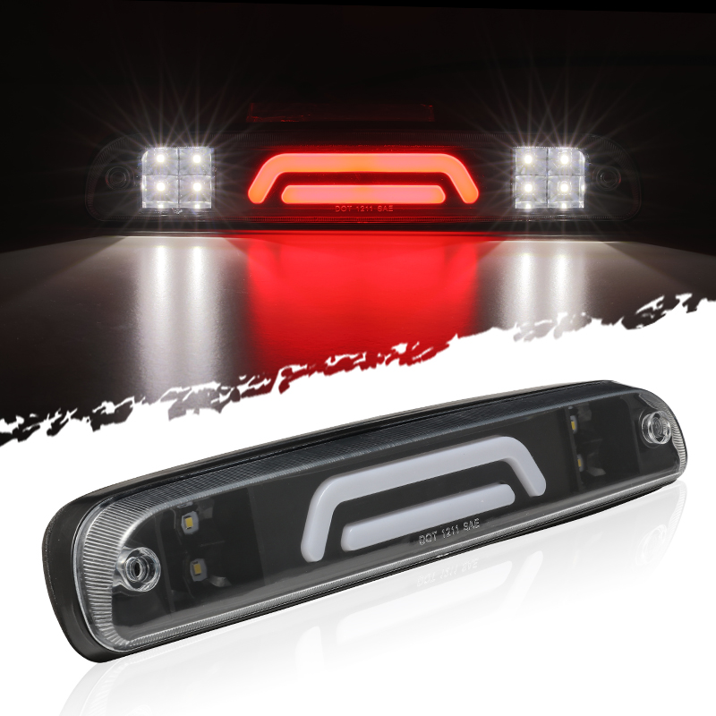 For 1993 2011 Ford Ranger 3d Led Rear Roof High Mount 3rd